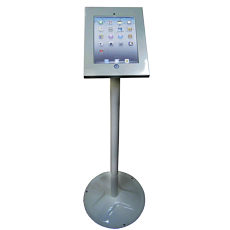 iPad Anti-theft Stand - Silver